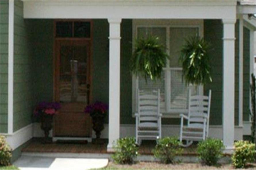 142-1060: Home Exterior Photograph-Porch