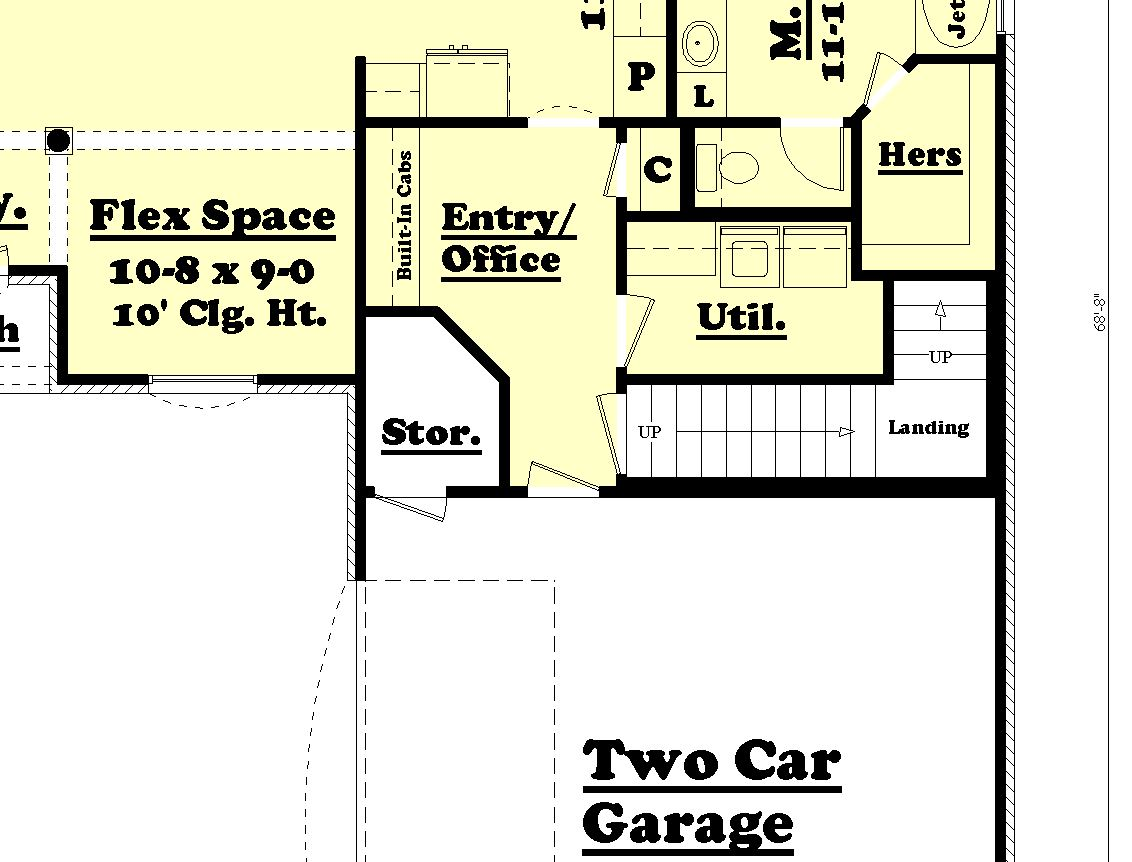 House plan 142 1063 3 bdrm 1 600 sq ft acadian home for 1600 sq ft floor plans
