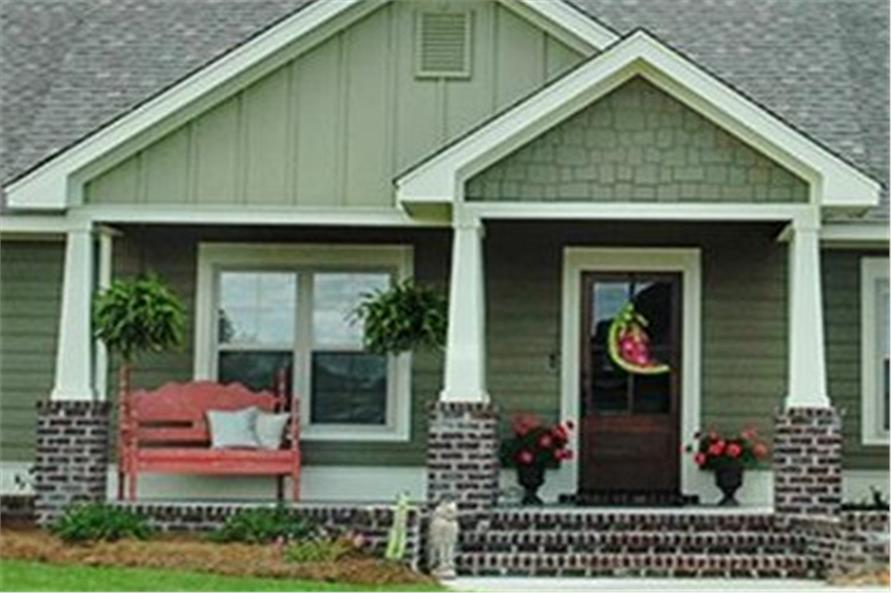 Porch of this 3-Bedroom,1675 Sq Ft Plan -1675
