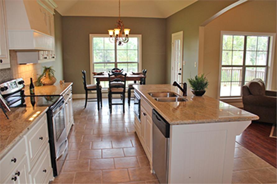 142-1090: Home Interior Photograph-Kitchen