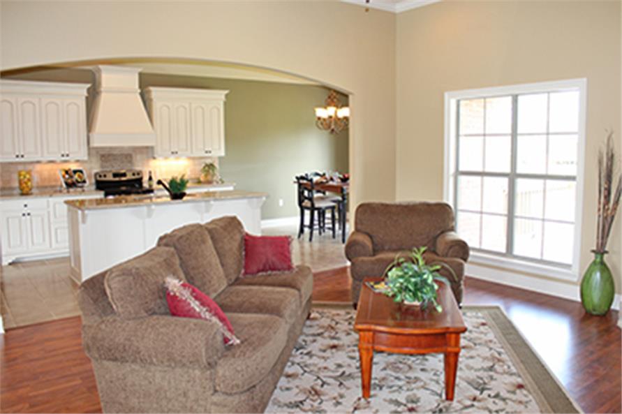 142-1090: Home Interior Photograph-Living Room