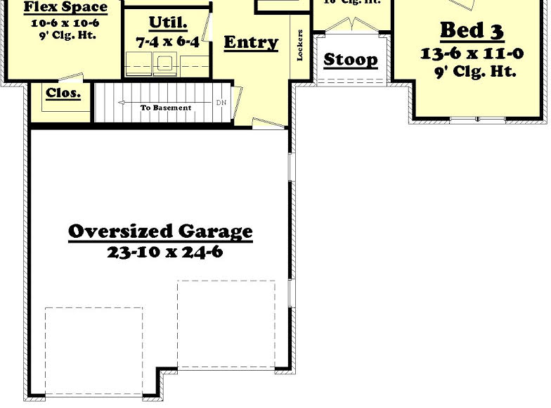 Acadian House Plan