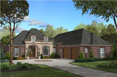 3-Bedroom, 2200 Sq Ft Acadian Home  - Plan #142-1097 - Main Exterior