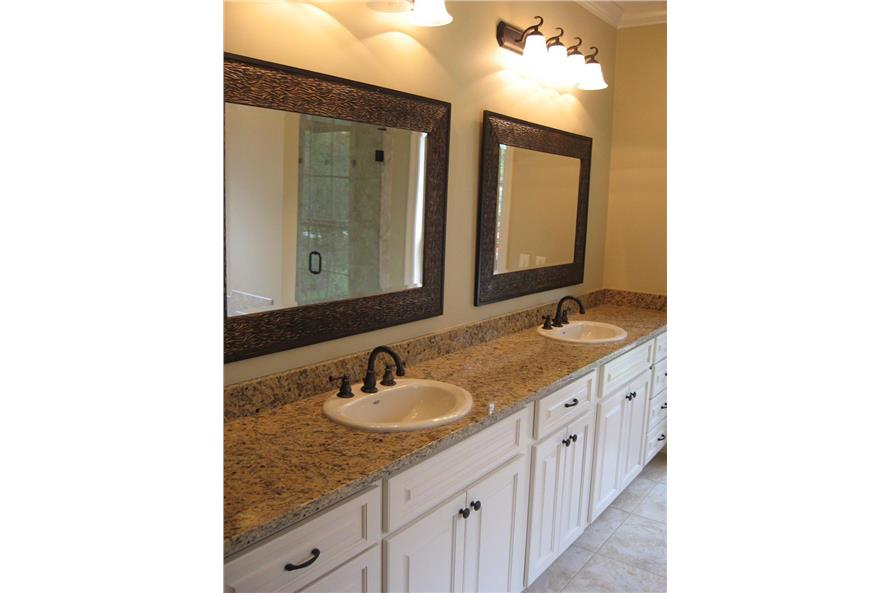 Master Bathroom of this 4-Bedroom,2900 Sq Ft Plan -2900