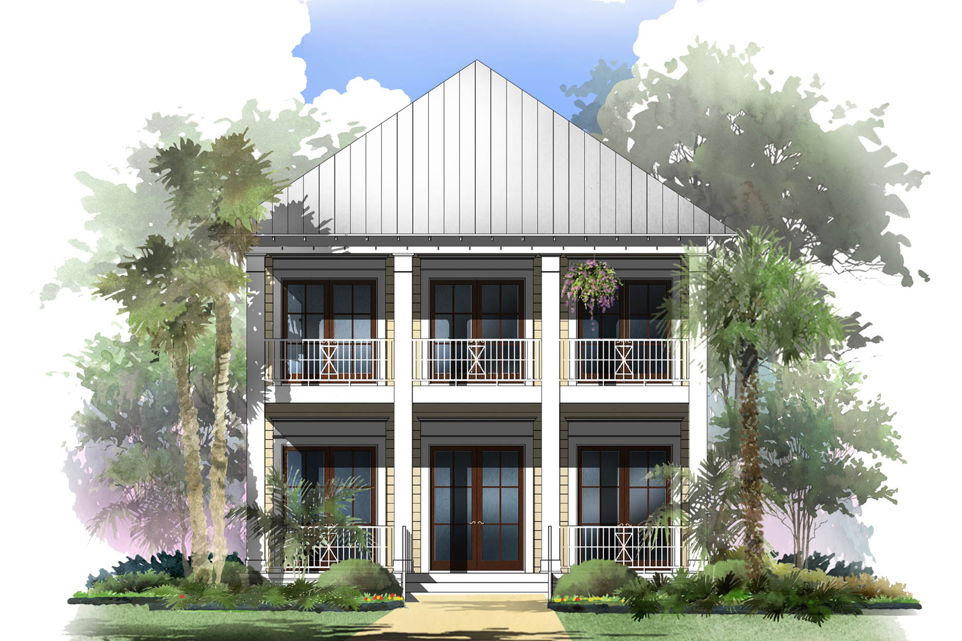 Coastal house plan 142 1125 4 bedrm 2888 sq ft home for Seaside house plans