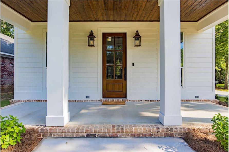 Front Door of this 4-Bedroom,2184 Sq Ft Plan -142-1128