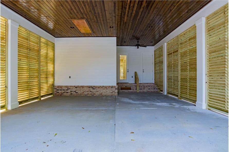 Garage of this 4-Bedroom,2184 Sq Ft Plan -142-1128