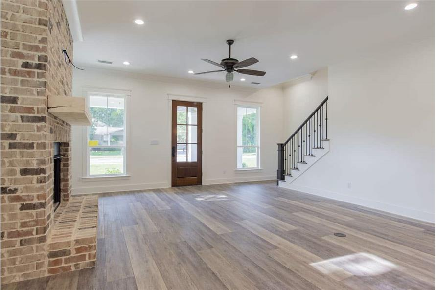 Entry Hall of this 4-Bedroom,2184 Sq Ft Plan -142-1128