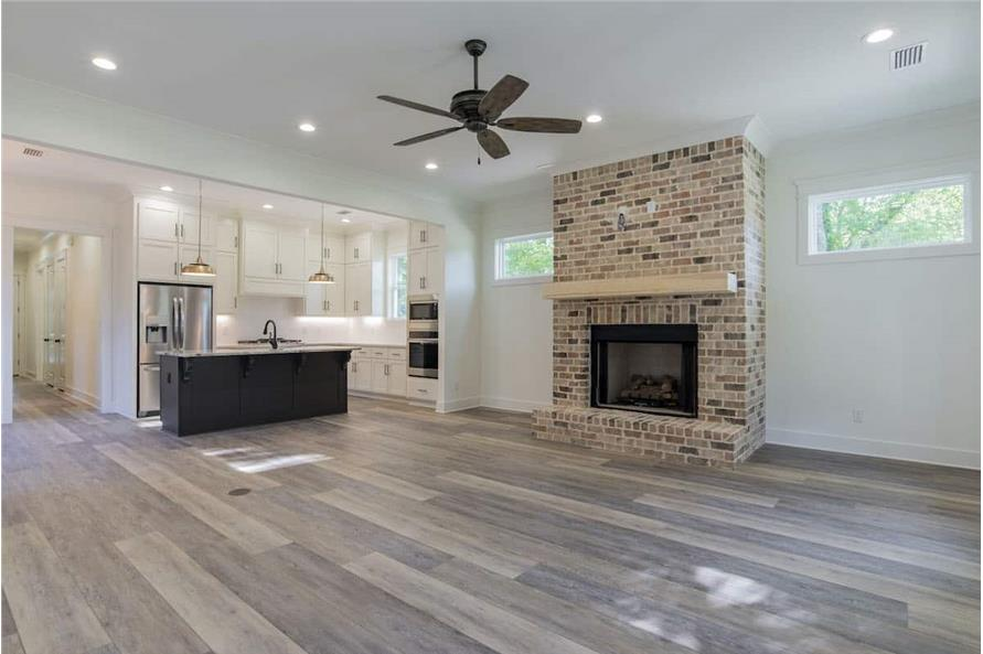 Great Room of this 4-Bedroom,2184 Sq Ft Plan -142-1128
