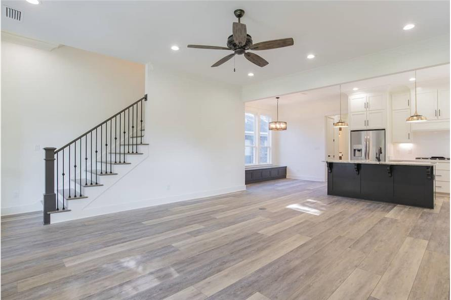 Entry Hall: Staircase of this 4-Bedroom,2184 Sq Ft Plan -142-1128