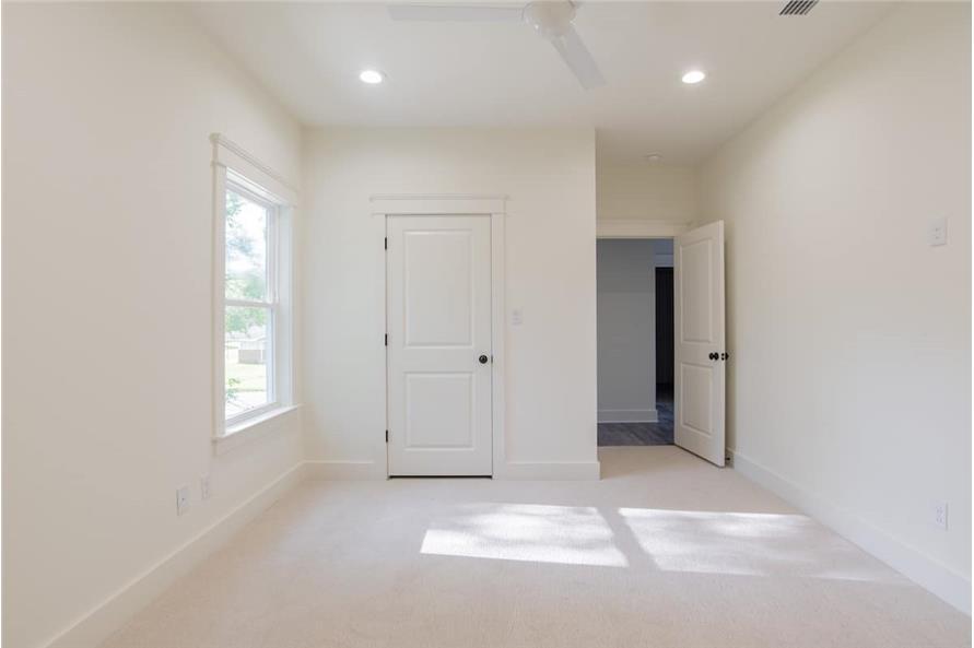 Bedroom of this 4-Bedroom,2184 Sq Ft Plan -142-1128