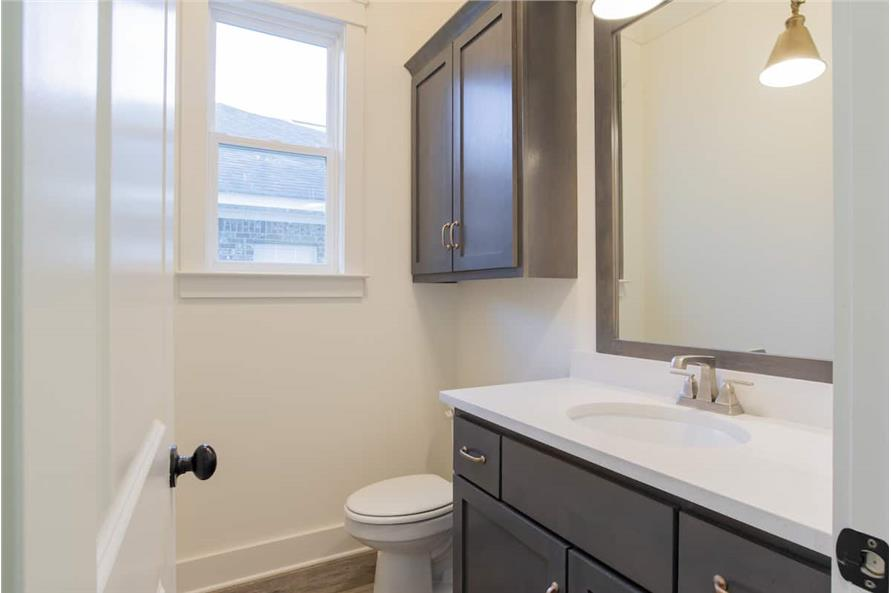 Powder Room of this 4-Bedroom,2184 Sq Ft Plan -142-1128