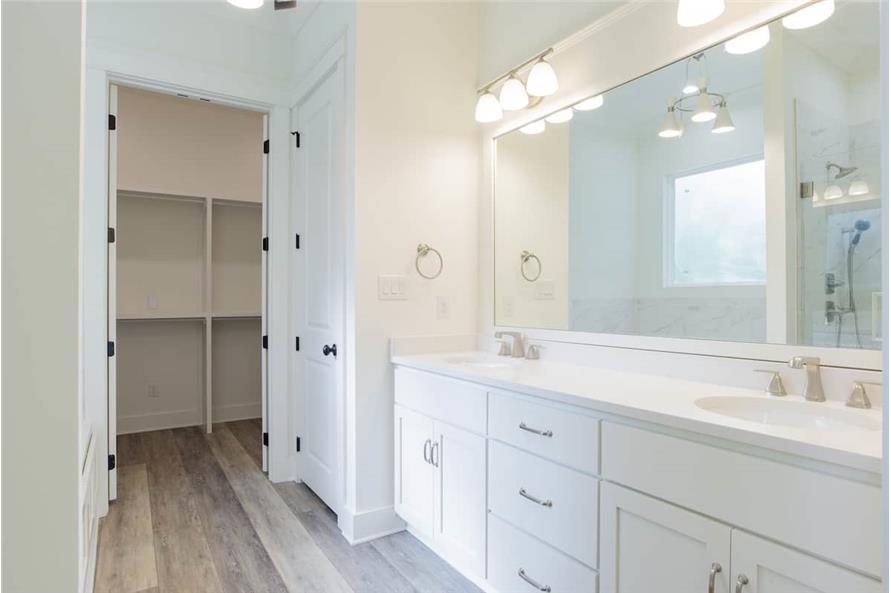 Master Bathroom: Sink/Vanity of this 4-Bedroom,2184 Sq Ft Plan -142-1128