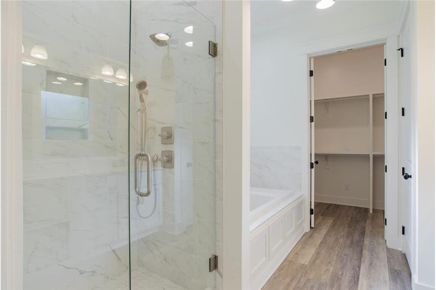 Master Bathroom: Shower of this 4-Bedroom,2184 Sq Ft Plan -142-1128
