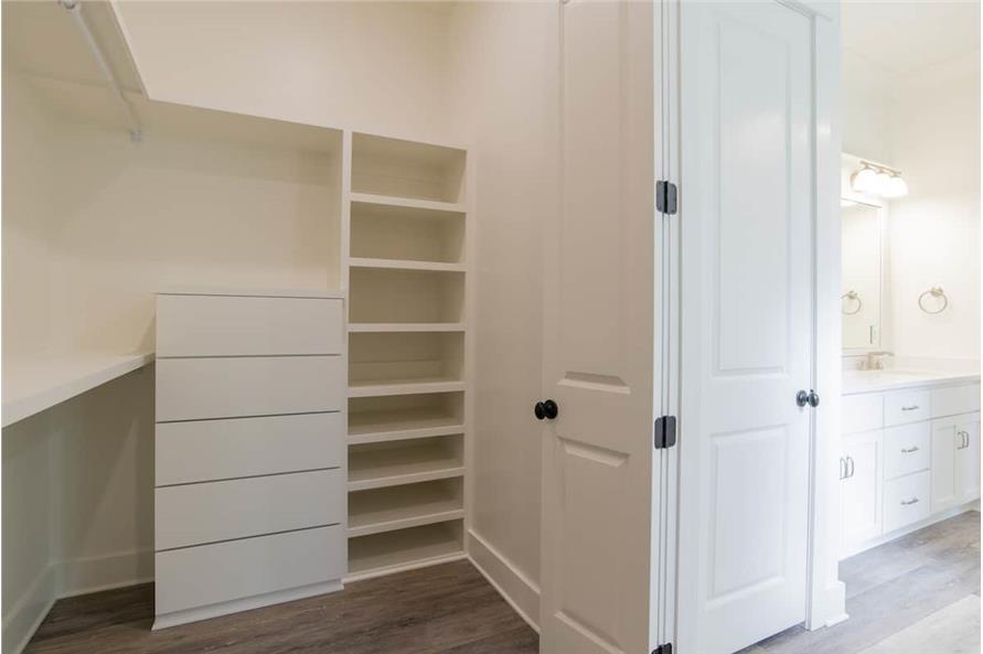 Master Bedroom: Closet of this 4-Bedroom,2184 Sq Ft Plan -142-1128
