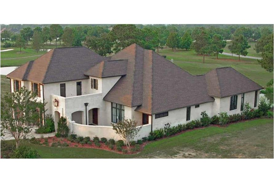 Aerial View of this 4-Bedroom,3784 Sq Ft Plan -142-1132