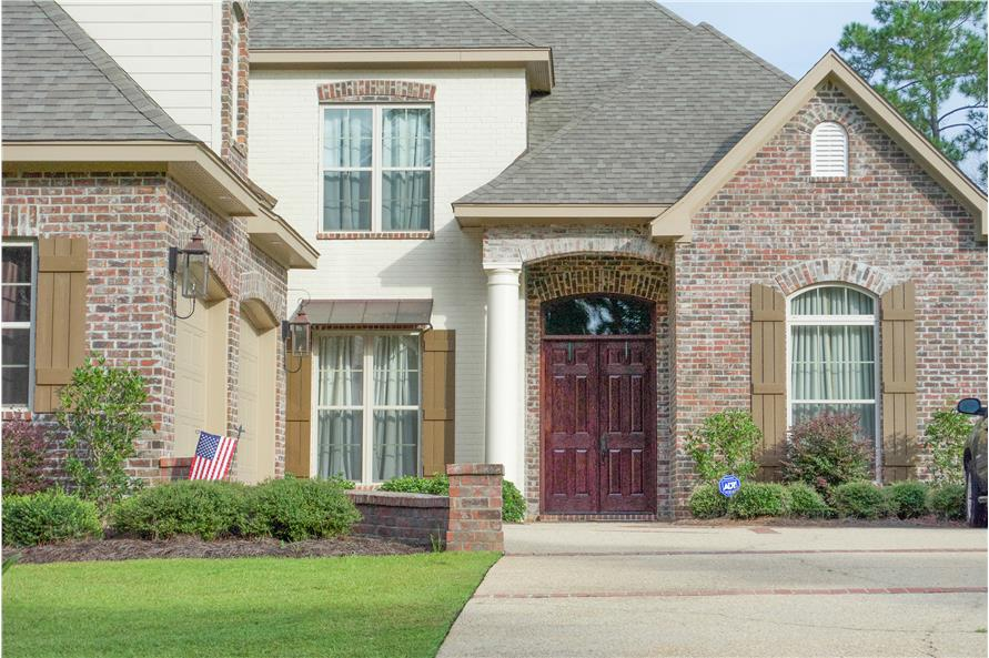 Front Door of this 5-Bedroom,3891 Sq Ft Plan -3891