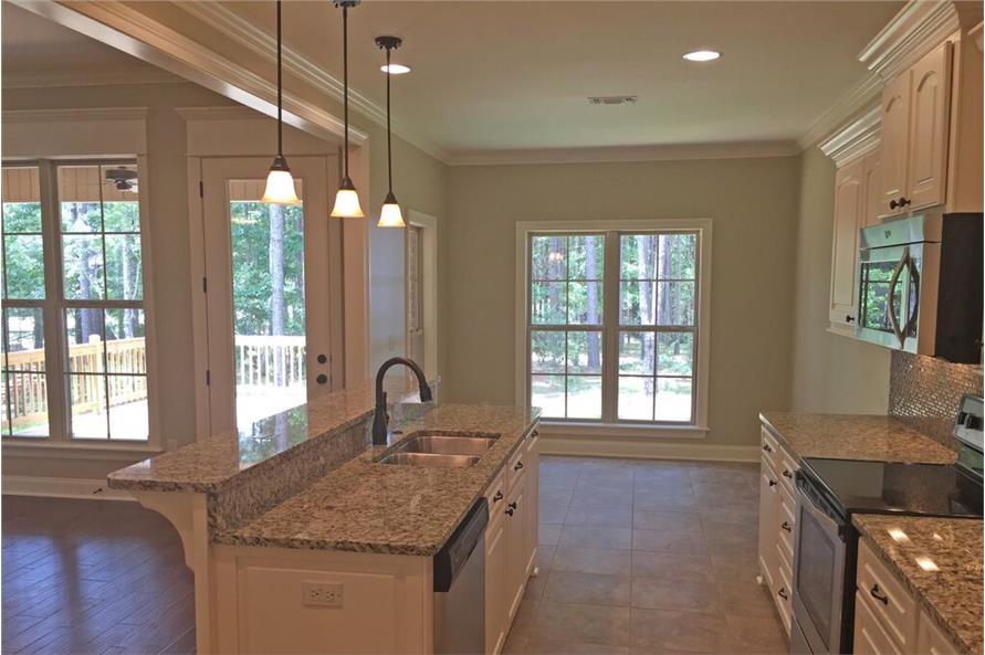 142-1137: Home Interior Photograph-Kitchen: Breakfast Nook