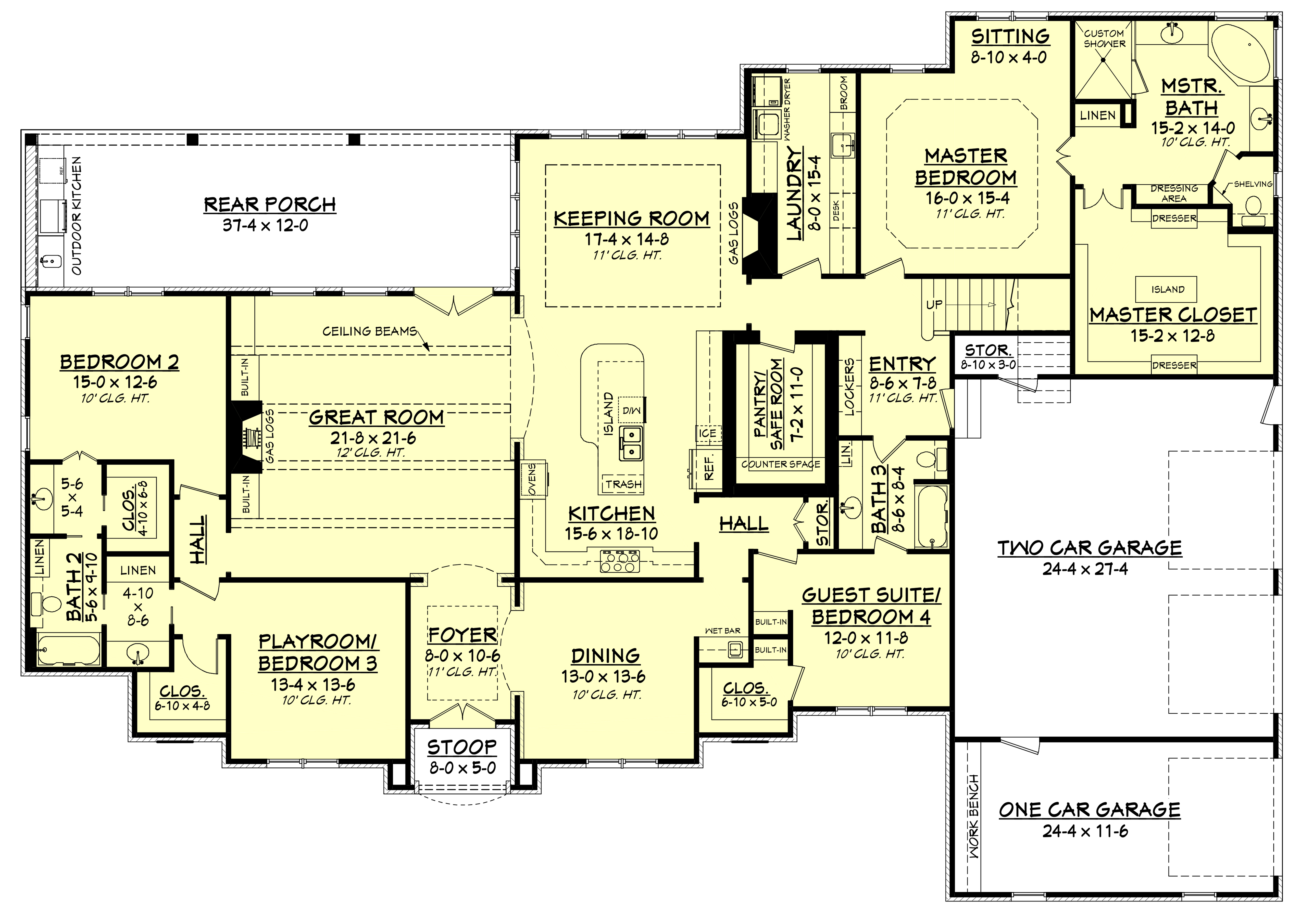 European house plan 142 1141 4 bedrm 3527 sq ft home for European floor plans