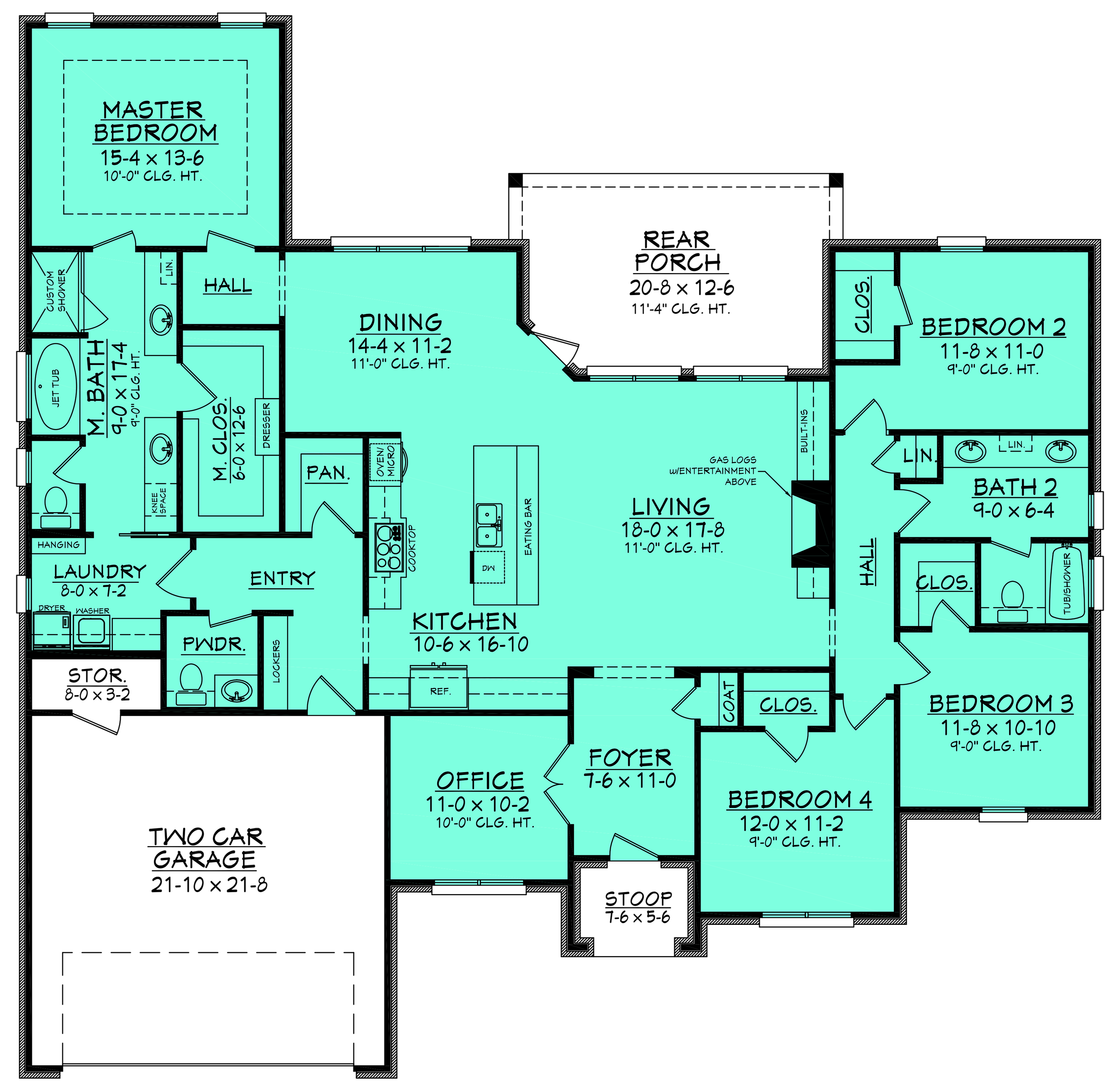 French house plan 142 1142 4 bedrm 2380 sq ft home for The plan collection house plans