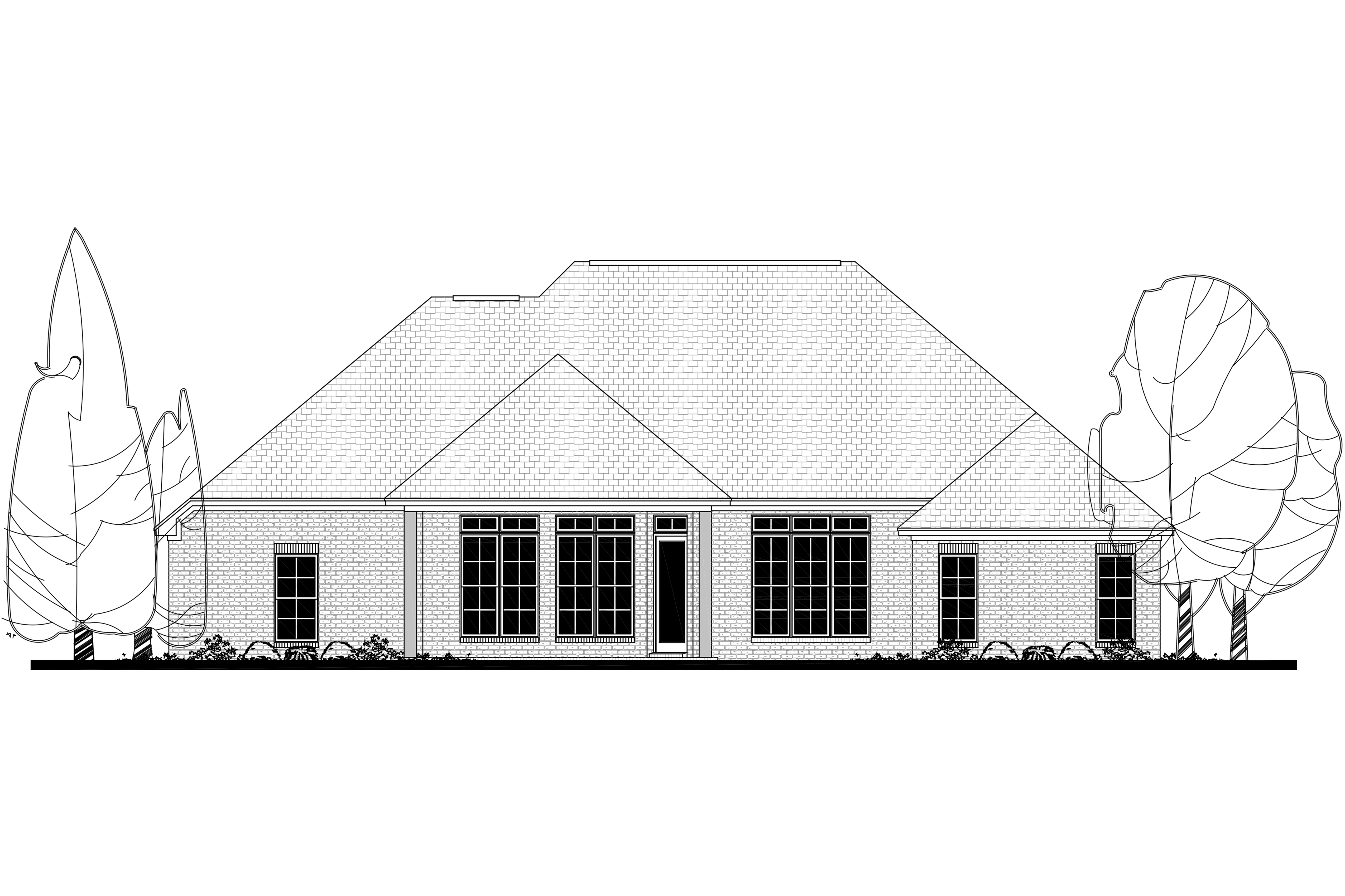 French House Plan #142-1142: 4 Bedrm, 2380 Sq Ft Home