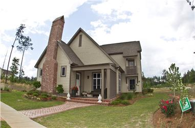 4-Bedroom, 2166 Sq Ft Traditional Home Plan - 142-1148 - Main Exterior
