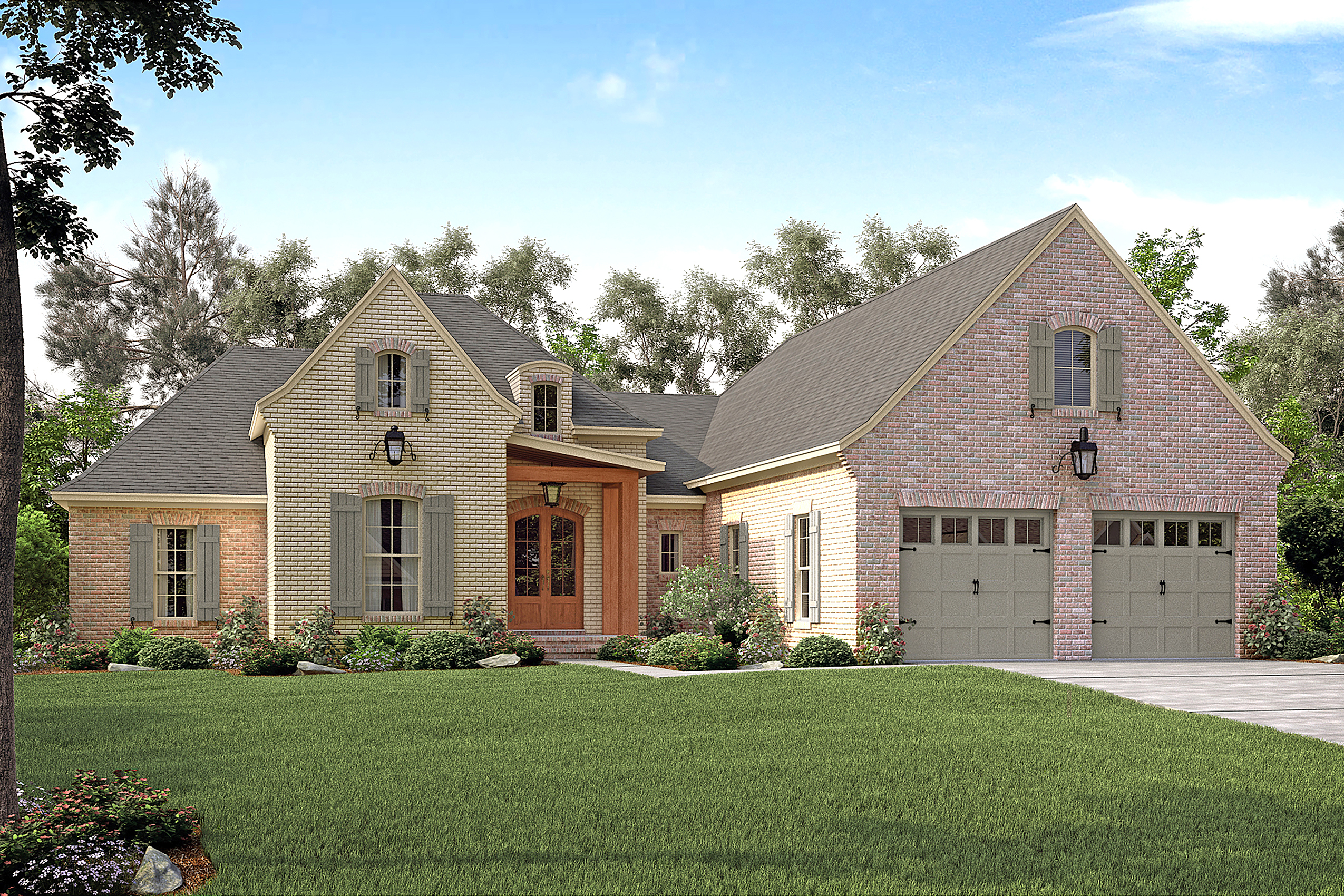 French house plan 142 1149 3 bedrm 2217 sq ft home plan for French home plans
