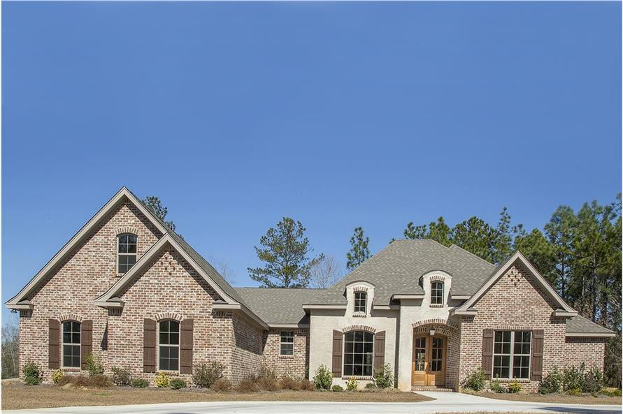 Home Exterior Photograph of this 4-Bedroom,3287 Sq Ft Plan -142-1151