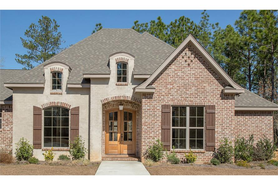 Home Exterior Photograph of this 4-Bedroom,3287 Sq Ft Plan -3287