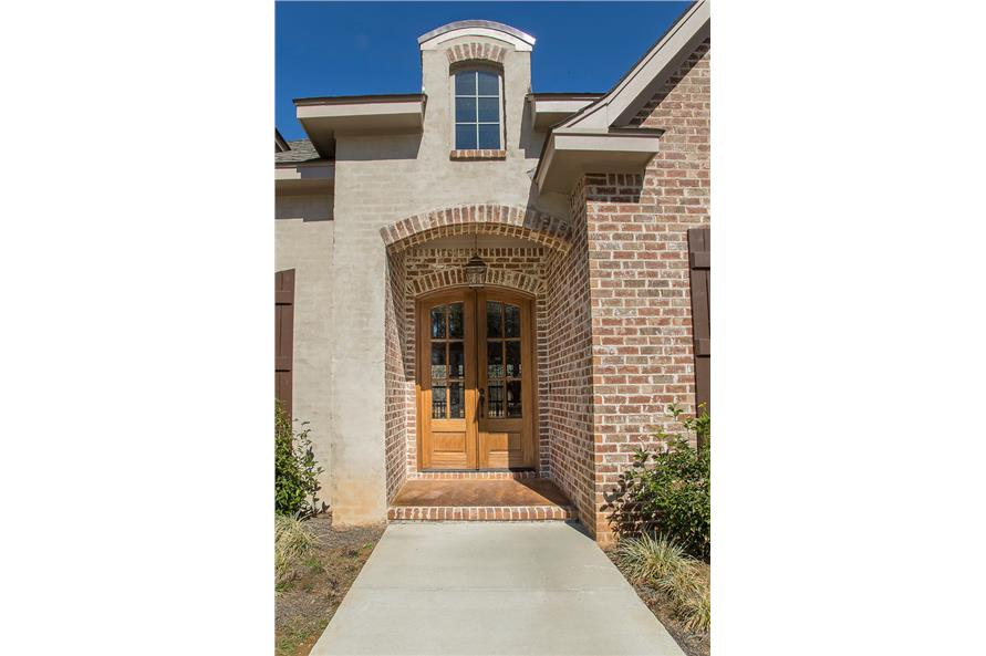 Front Door of this 4-Bedroom,3287 Sq Ft Plan -3287
