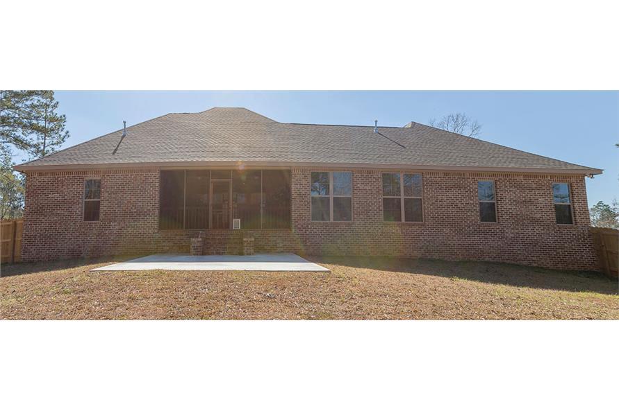 142-1151: Home Exterior Photograph-Rear View