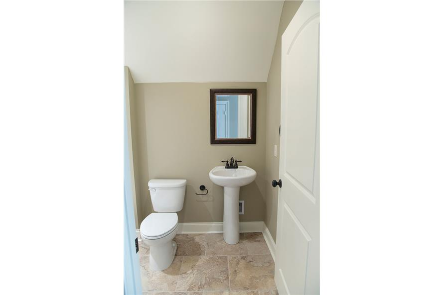 Powder Room of this 4-Bedroom,3287 Sq Ft Plan -3287