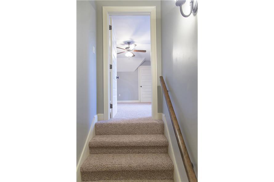 142-1152: Home Interior Photograph-Entry Hall: Staircase