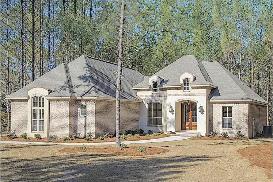 3-Bedroom, 2146 Sq Ft Acadian Home Plan - 142-1152 - Main Exterior