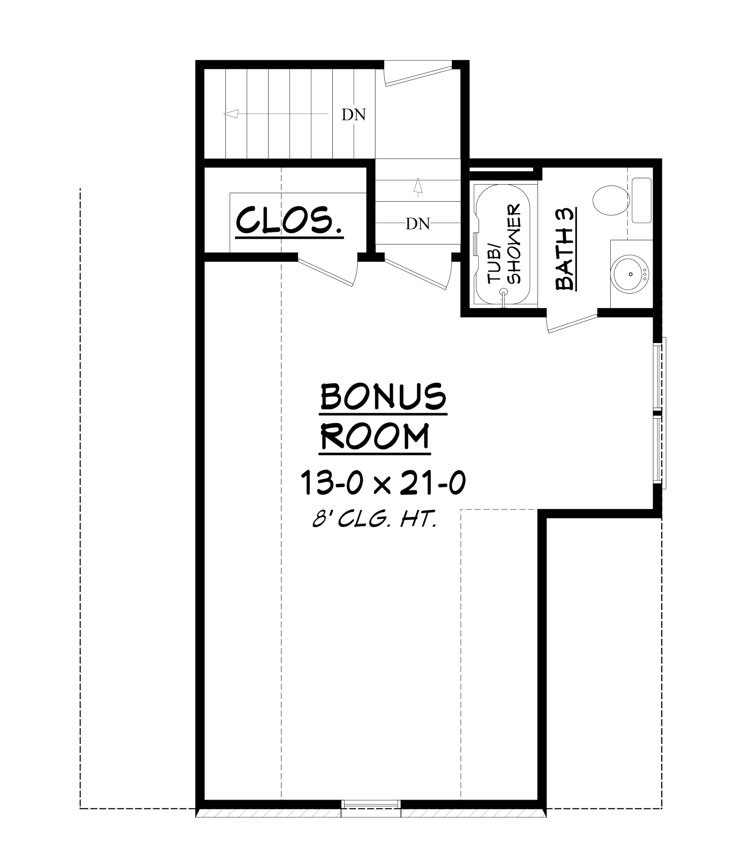 Acadian house plan 142 1155 3 bedrm 1870 sq ft home plan for Floor plans with bonus room