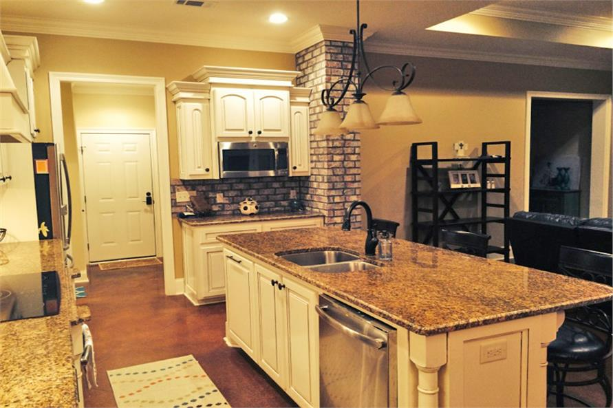 Kitchen of this 3-Bedroom,1870 Sq Ft Plan -1870