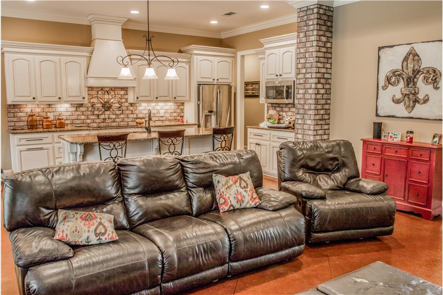 Great Room of this 3-Bedroom,1870 Sq Ft Plan -1870