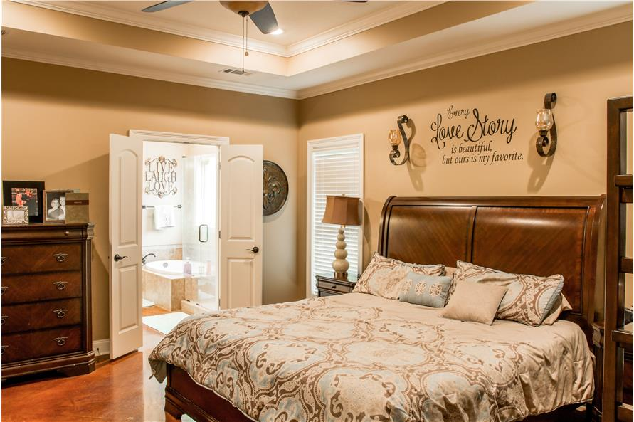 Master Bedroom of this 3-Bedroom,1870 Sq Ft Plan -1870