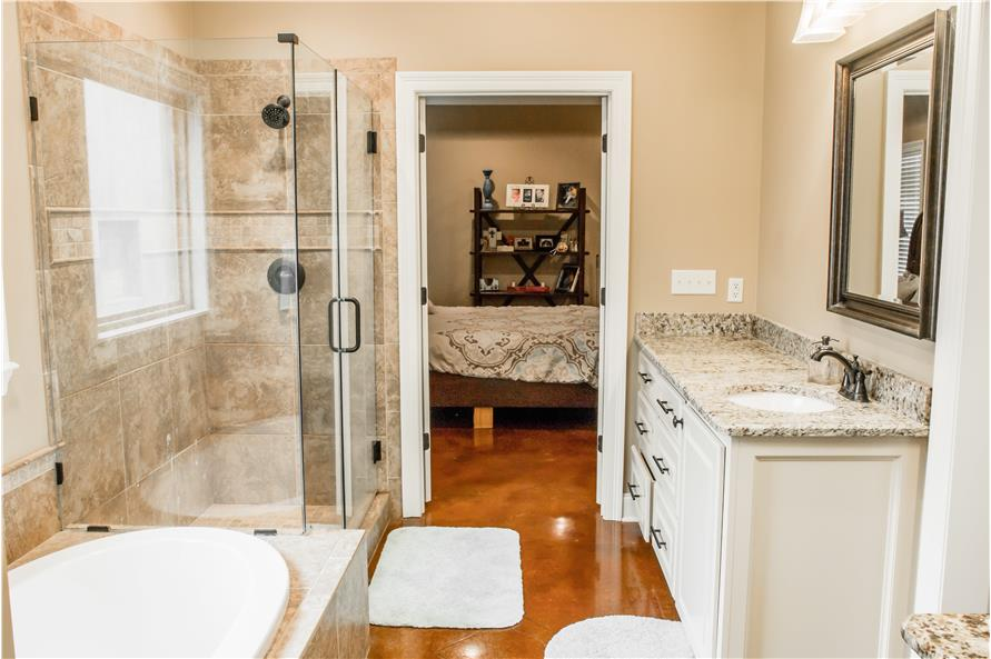 Master Bathroom of this 3-Bedroom,1870 Sq Ft Plan -1870