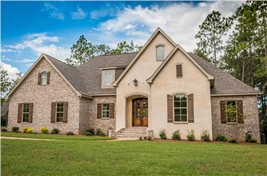 4-Bedroom, 2399 Sq Ft European Home Plan - 142-1160 - Main Exterior