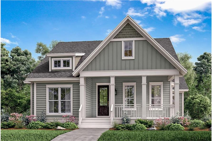 Home Plan Rendering of this 4-Bedroom,2203 Sq Ft Plan -2203
