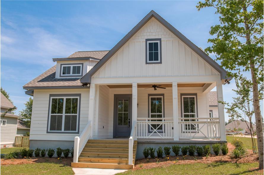 4-Bedroom, 2203 Sq Ft Craftsman Home Plan - 142-1165 - Main Exterior