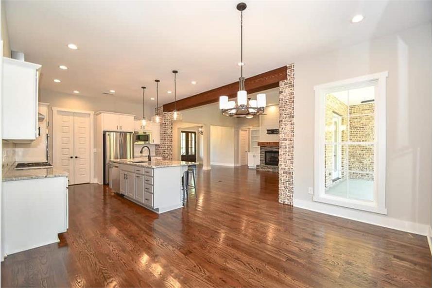Kitchen: Breakfast Nook of this 3-Bedroom,2469 Sq Ft Plan -142-1166