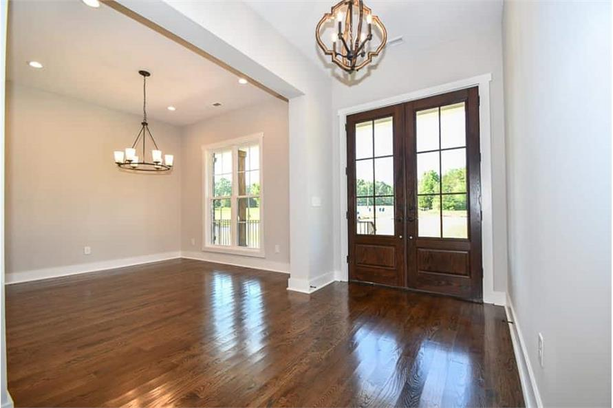 Entry Hall: Foyer of this 3-Bedroom,2469 Sq Ft Plan -142-1166