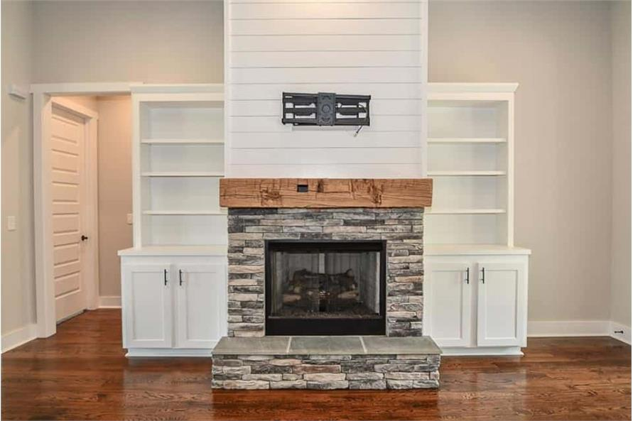 Great Room: Fireplace of this 3-Bedroom,2469 Sq Ft Plan -142-1166