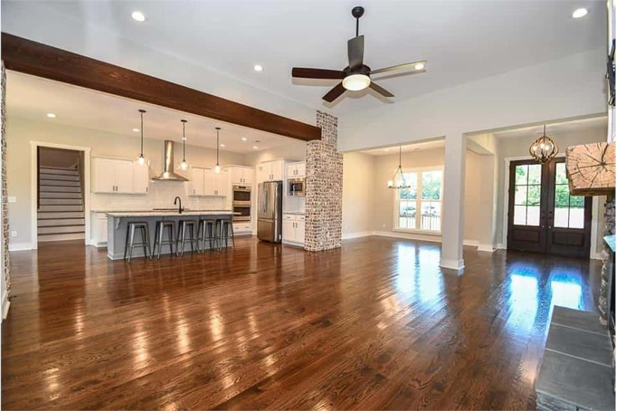 Great Room of this 3-Bedroom,2469 Sq Ft Plan -142-1166