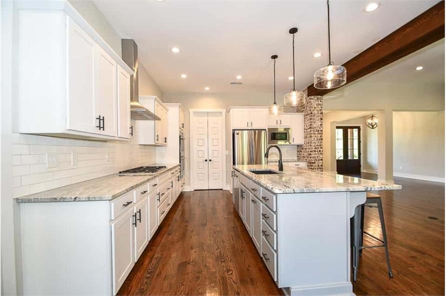 Kitchen of this 3-Bedroom,2469 Sq Ft Plan -142-1166