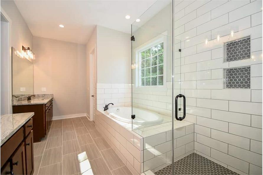 Master Bathroom of this 3-Bedroom,2469 Sq Ft Plan -142-1166