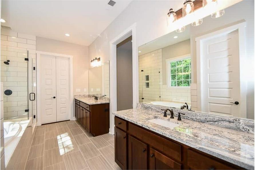 Master Bathroom: Sink/Vanity of this 3-Bedroom,2469 Sq Ft Plan -142-1166