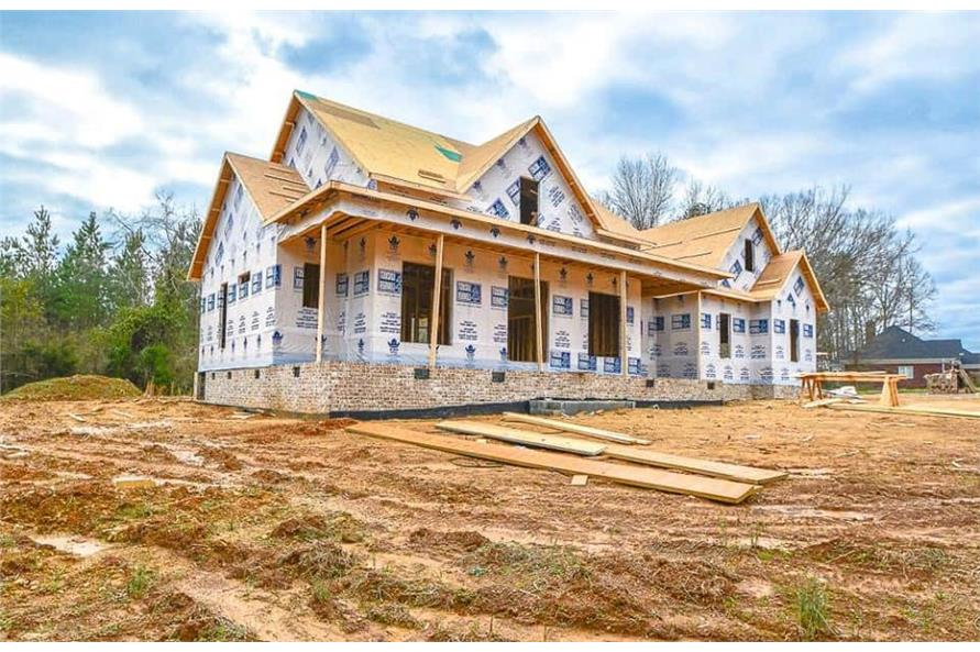 Left Side View of this 3-Bedroom,2469 Sq Ft Plan -142-1166